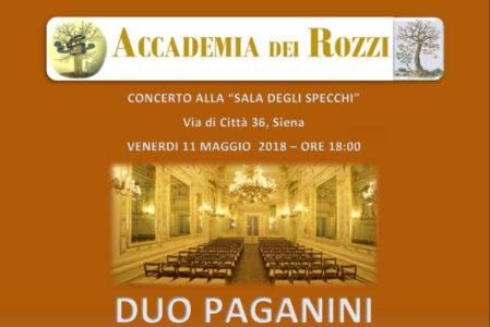 Concerto Accademia dei Rozzi giugno 2016