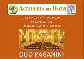Concerto Accademia dei Rozzi 11 Maggio 2018