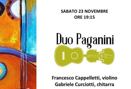 Paganini VS Rossini ad Harmonia Coeli