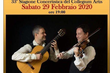 Paganini VS Rossini al Collegium Artis